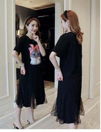 Váy Bầu Công Sở Cho Con Bú Chất Cotton Siêu đẹp Tm1119 5d7b2197e2dd6.jpeg