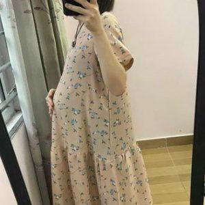 Váy Bầu Suông Mùa Hè Tm22 Trẻ Trung Xinh Xắn 5d7b2190e5d80.jpeg
